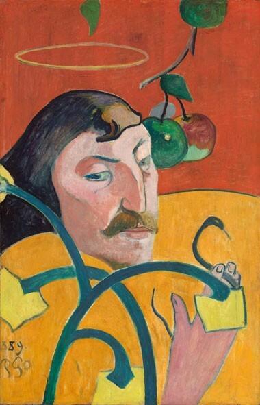 opere di gauguin per spiegare l'autoritratto