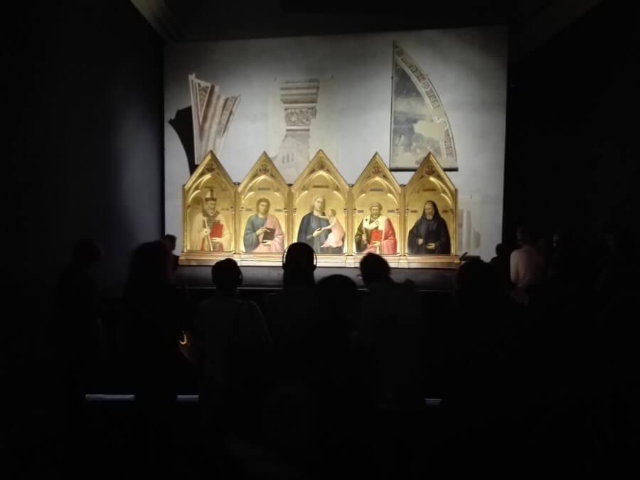 allestimento Giotto Milano