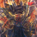 tra le opere più celebri di Boccioni Materia del 1912