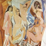 picasso opera al MOMA les demoiselles d'avignon