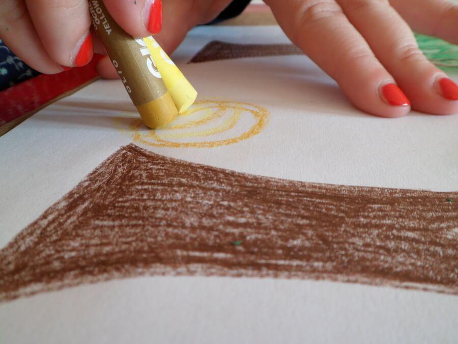 labratorio didattico colori ad olio per bambini
