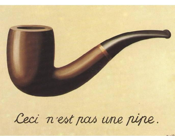 l'opera più famosa di magritte ceci n'est pas une pipe