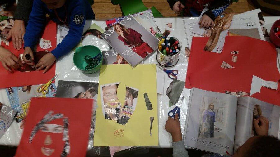 bambini nelle attività didattiche della Pinacoteca Agnelli