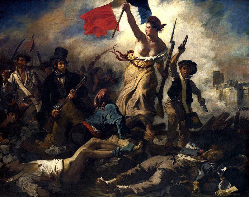 delacroix pittore francese romantico