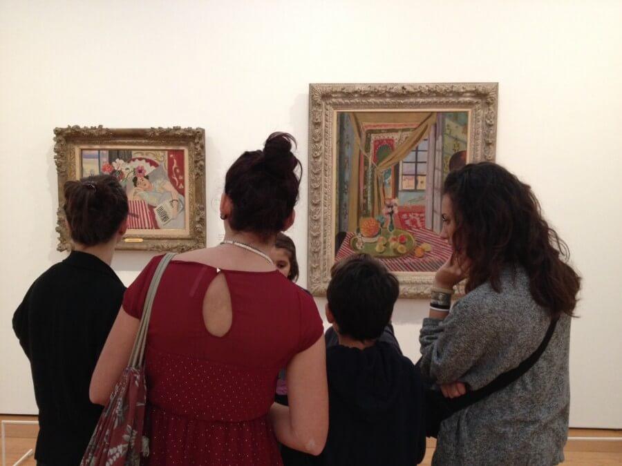 visita alla Pinacoteca Agnelli con i bambini
