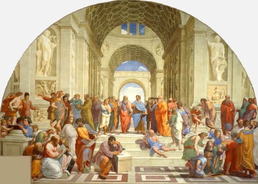 raffaello stanze vaticane opere famose