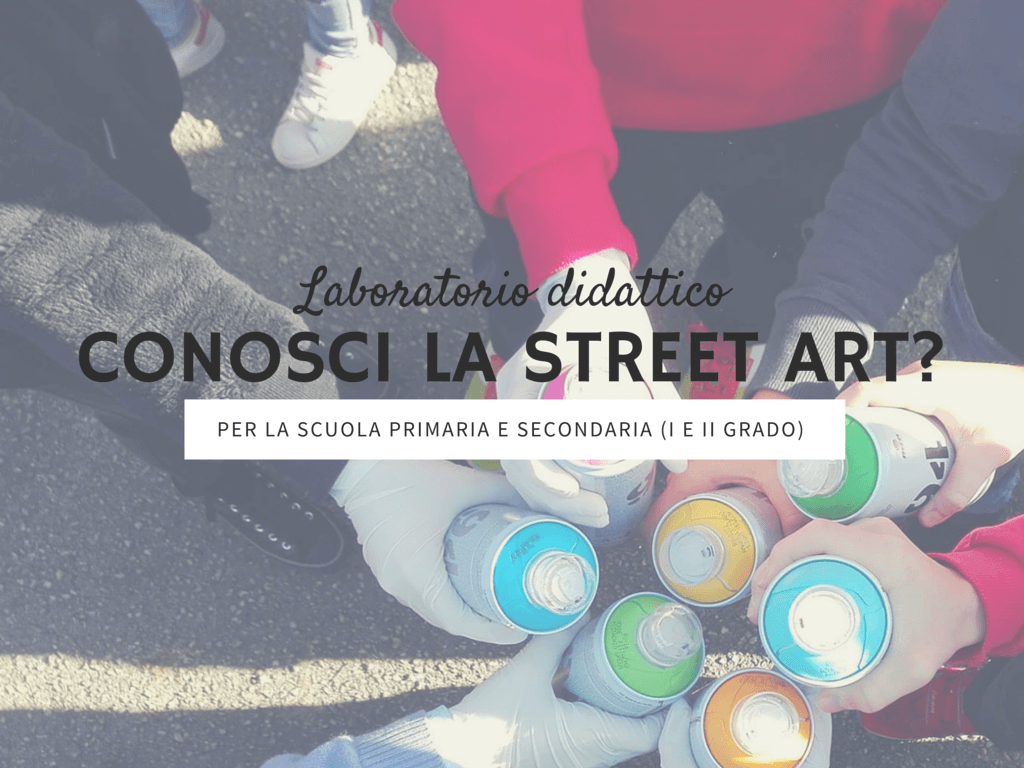 street art spiegata ai bambini
