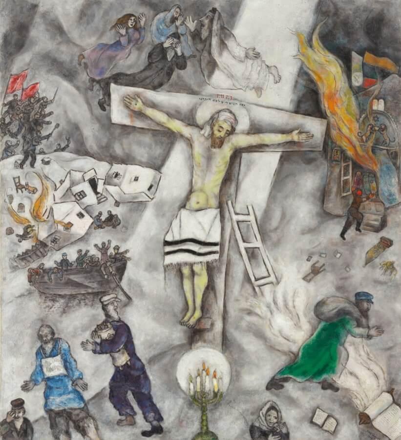 crocifissione di chagall opere più importanti