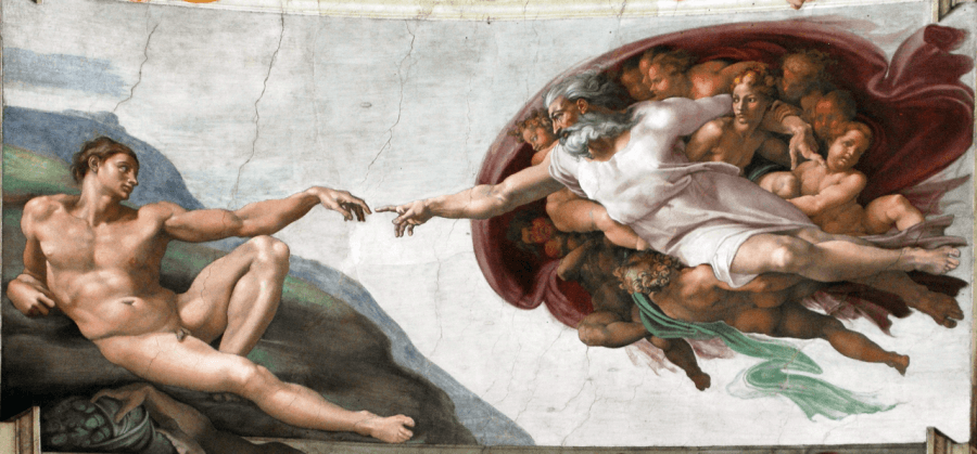 storia e tecnica dell'affresco michelangelo