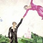 la passeggiata di chagall pittore russo