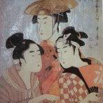 utamaro opere ritratti stile ukiyo-e