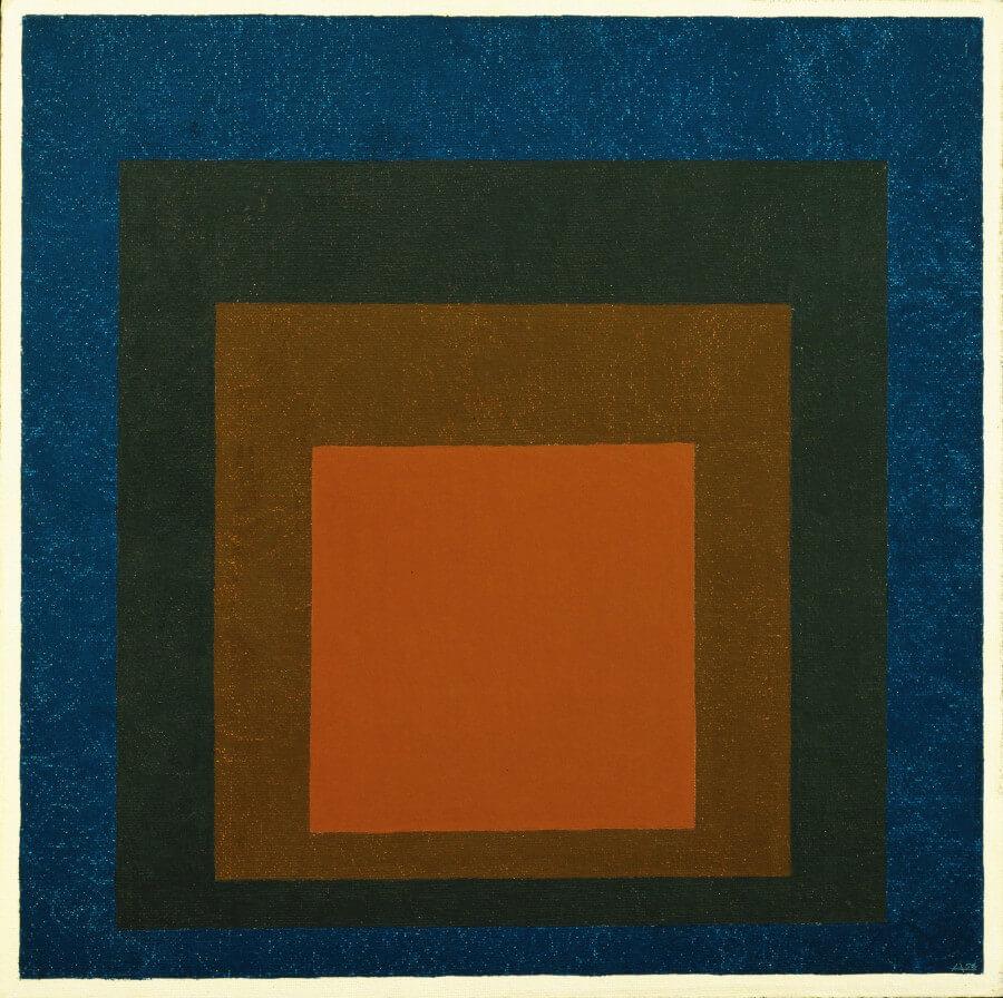 omaggio al quadrato di Albers