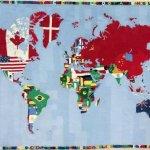boetti e le mappe geografiche