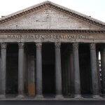 facciata pantheon descrizione breve e storia