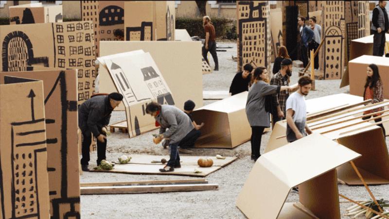 arte contemporanea e spazio pubblico attività per ragazzi