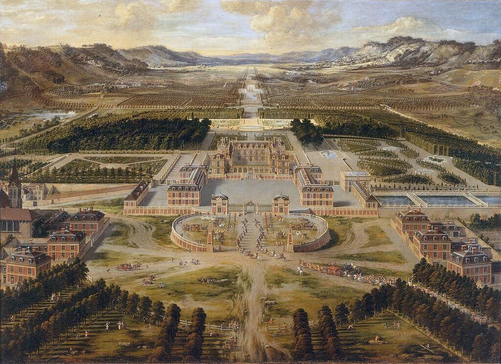 1668 come si presentava la Reggia di Versaille