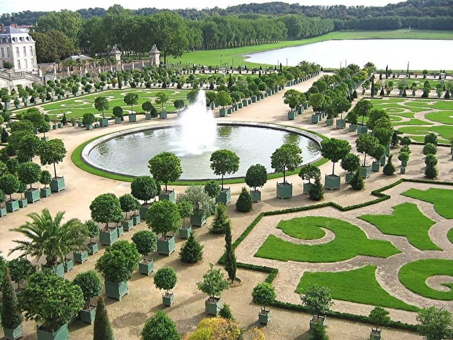 Orangerie e giardini di Versailles