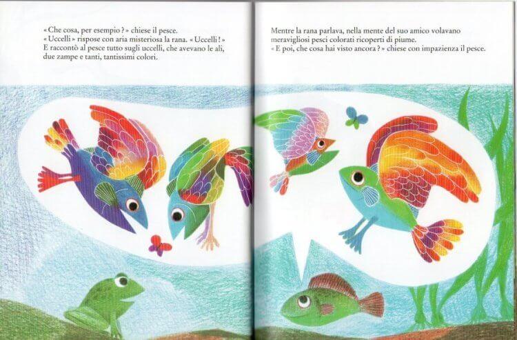 un pesce è un pesce libro di leo lionni per bambini