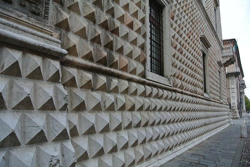 segno architettonico edifici rinascimento