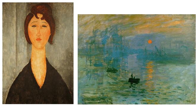 segno pittorico esempi tra artisti