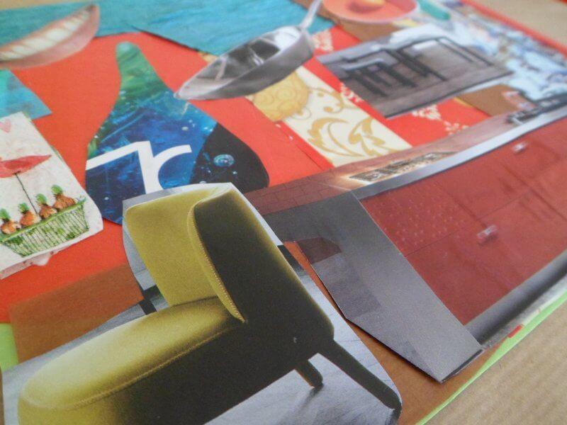 papier collé e collage attività per bambini scuola primaria