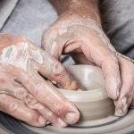 lavorare l'argilla con i bambini