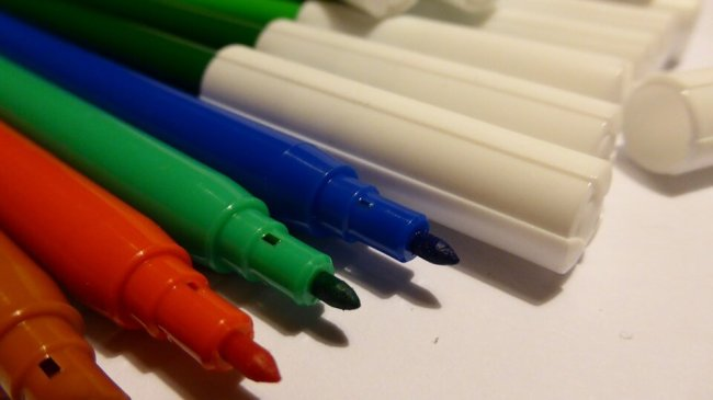 pennarelli errori più comuni con i bambini