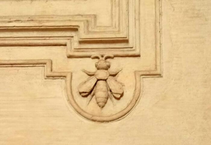 palazzo barberini e le api