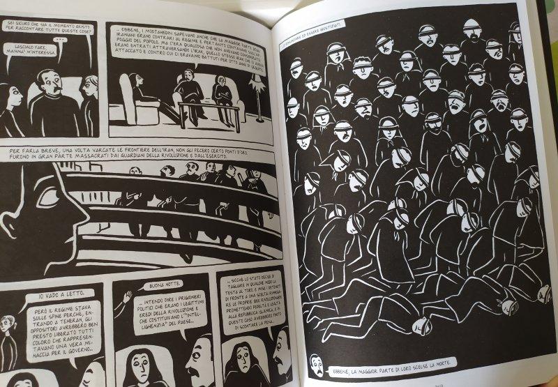 graphic novel caratteristiche persepolis